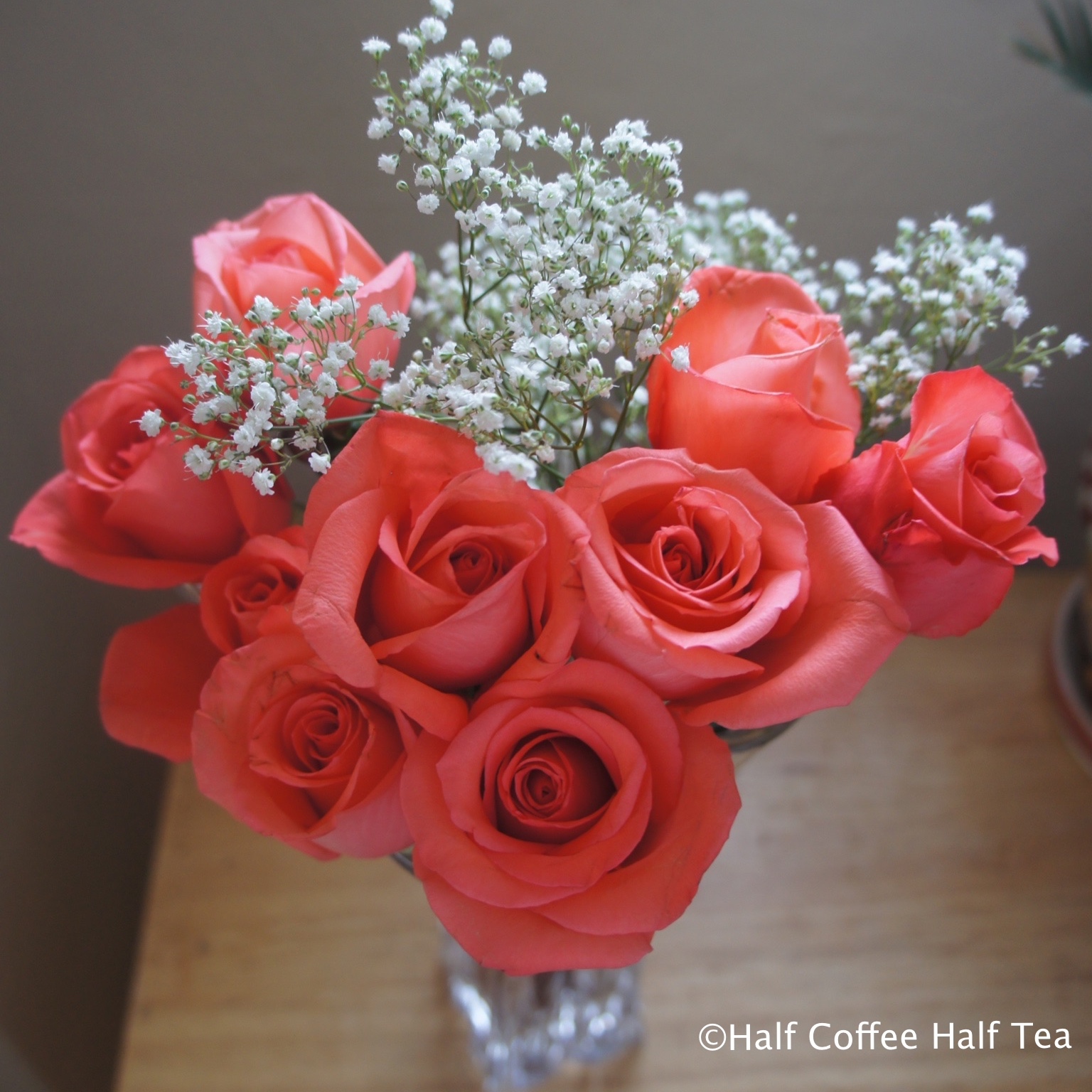 Test tube flower vase half coffee half tea ps the flowers are 50 off post valentines day izmirmasajfo